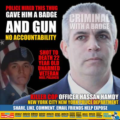 new yrk police officer hassan hamdy killed veteran noel polanco