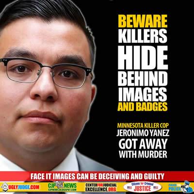 Beware Killers Hide Behind Images and Badges