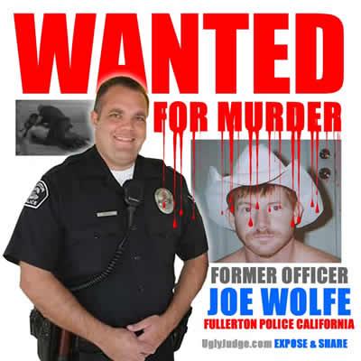 expose former police officer joe wolfe fullerton california