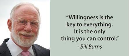 bill burns willingness