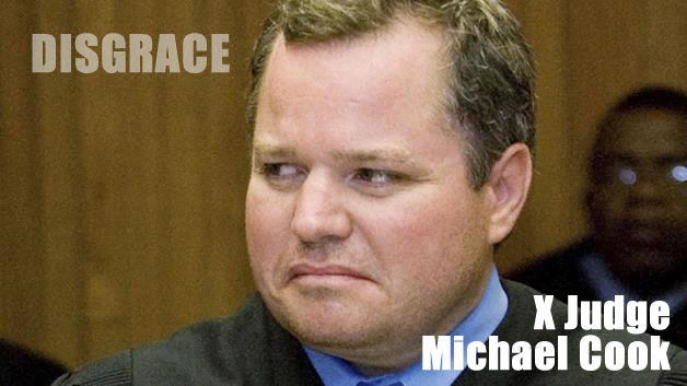 disgrace judge michael cook