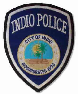 indio police patch