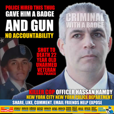 new yrk police officer hassan hamdy killed veteran noel polanco