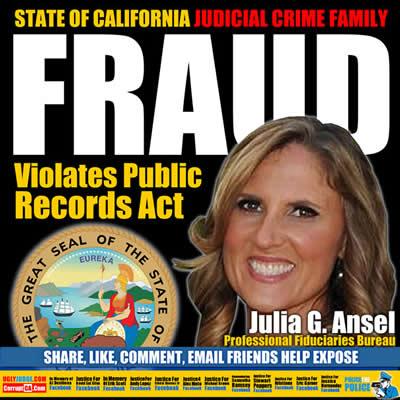 california epidemic misconduct by  julia G. Ansel Professional Fiduciaries Bureau, Department of Consumer Affairs