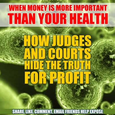 dishonest judges profit