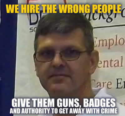 Officer Doug Rose monster, criminal, liar and bad cop