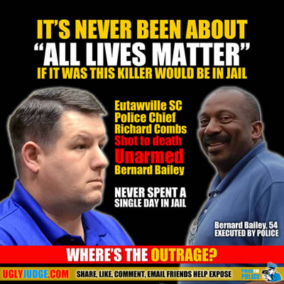 its never been about all lives matter richard combs police chief never spent a single day in jail