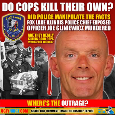 Do police kill their own to cover up corruption or crimes by their own