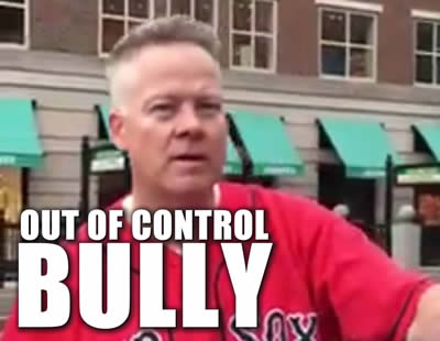 Officer Edward Barrett boston police out of control bully