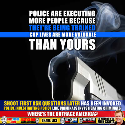 police are executing more people because their being trained cop lives are more valuable than yours