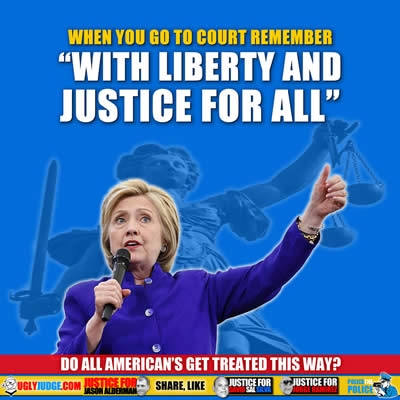 Hillary Clinton With Liberty and Justice for All