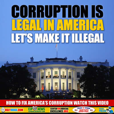 Corruption is Legal in America Let's make it Illegal