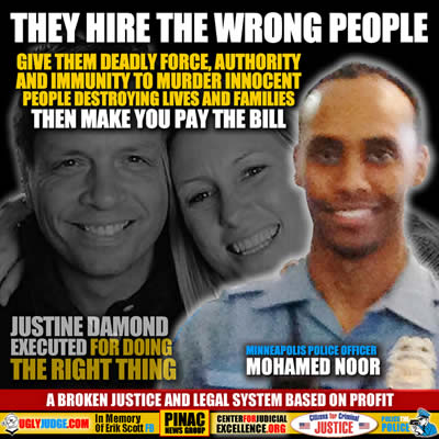 minneapolis police officer cowardly executed justine damond then claimed he was startled and delayed his statement