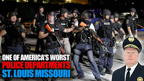 One of Americas worst police departments st louise missouri