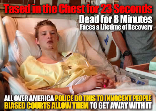 Missouri Independence police officer Bryce Awake In Hospital Timothy Runnels should be in prison for life