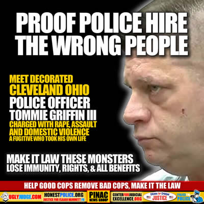 help good cops remove bad cops make it the law tommie griffin iii a fugitive and criminal