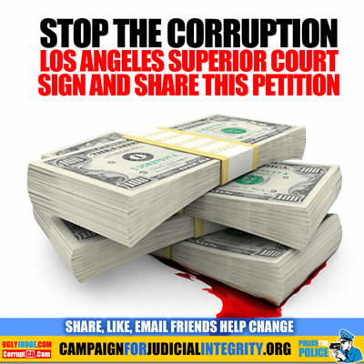 Stop the Corruption Los Angeles Superior Court Petition