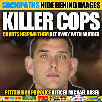 East Pittsburgh Police Officer Michael Rosfeld MURDERED17-year old Antwon Rose Jr
