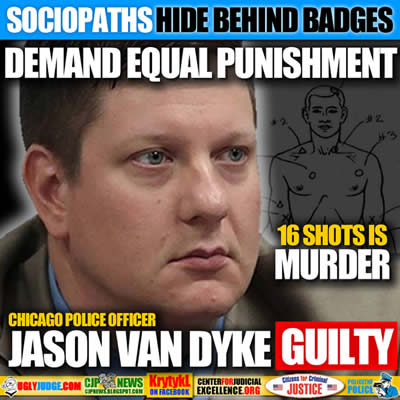 Chicago police officer Jason Van Dyke found guilty second-degree murder of Laquan McDonald