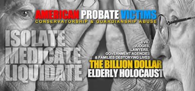 Join us fighting American Probate abuse at American Probate Victims