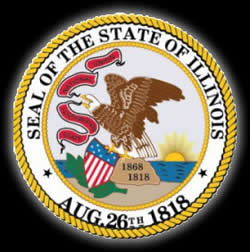 illinois state of illinois seal