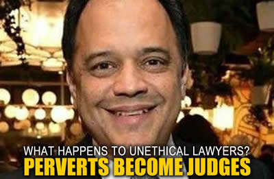 pervert Cook County Illinois Judge Mauricio Araujo uses I resign scam to escape accountability and prosecution