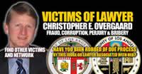 CV victim of Judge Christopher E Overgaard