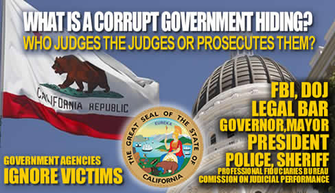 Who judges the judges while government ignores victims